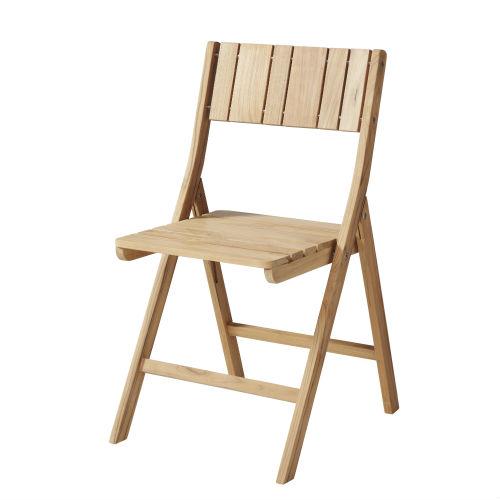 Altanbord i teaktræ og rustfrit stål - lav pris på klapbord