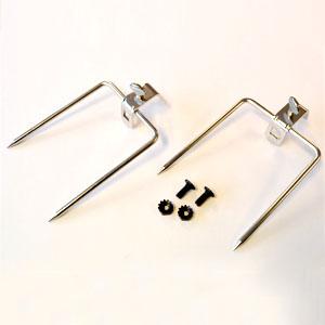 Rask Weber gafler til rotisserie - ekstra gafler til Weber rotisseri 1087 DY-86