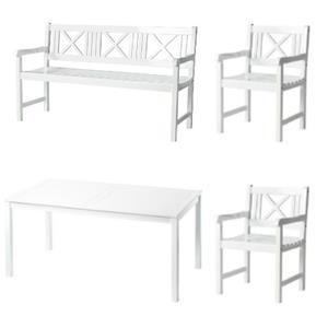 Afholte Havemøbler i hvid - Se Rosenborg bord og stole fra Cinas RS-34