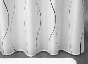badeforhæng 120x200 Smalt badeforhæng fra Debel Body slimline 120 x 200 cm badeforhæng 120x200