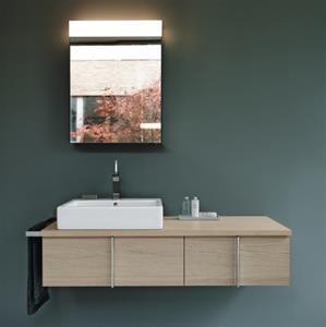 duravit vero h ndvask i firkantet design med wondergliss. Black Bedroom Furniture Sets. Home Design Ideas