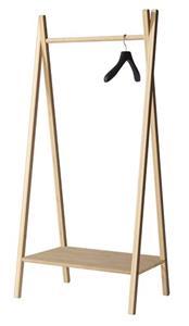 tøjstativ træ Cinas Noble tøjstativ   bøjlestativ i bambus fra Cinas tøjstativ træ