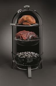 Højmoderne Weber Smokey Mountain Cooker.Stærke priser på begge modeller af WSM AI-61
