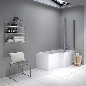 kombi badekar Showerbath, Strømberg Urban Edge kombi badekar og bruser kombi badekar