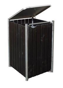 Skraldespandsskjuler træ – Rioolbuizen, sanitair