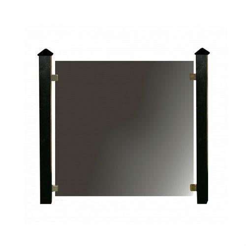Hortus glashegn, komplet pakke med 3 fag 339 x 105 cm x 6 mm