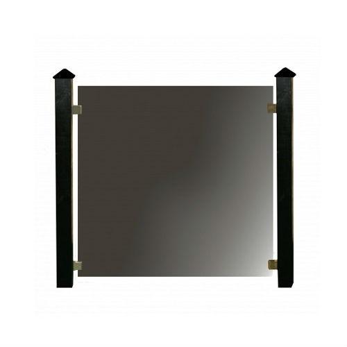 Hortus glashegn, komplet pakke med 6 fag 670 x 105 cm x 6 mm