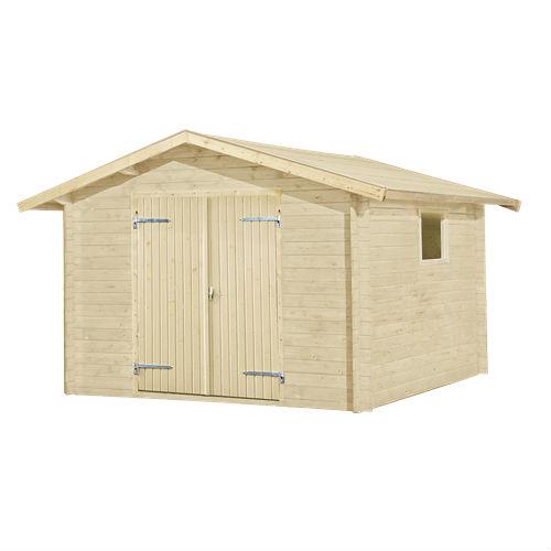 Plus redskabsrum i træ 9 m2