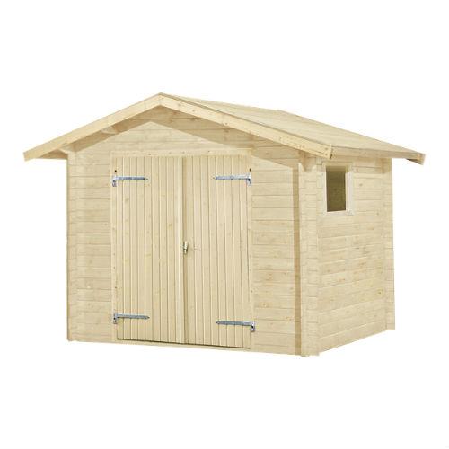 Plus redskabsrum i træ 4,5 m2