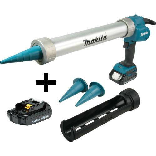 Makita DCG180RYEX fugepistol 18V med 2 x 1,5 Ah batteri og lader