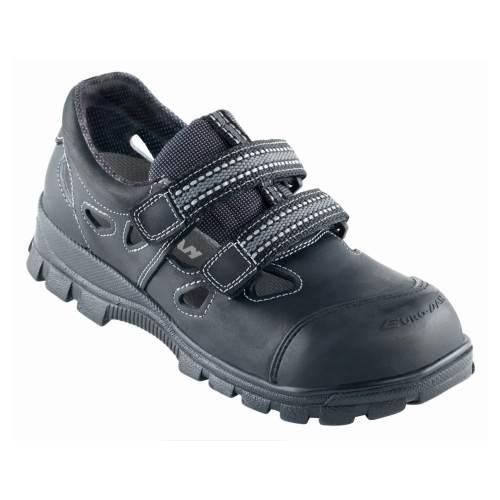 4a10e3c285d Se Euro-Dan Walki Soft sandal sort bagkap Politex str. 46