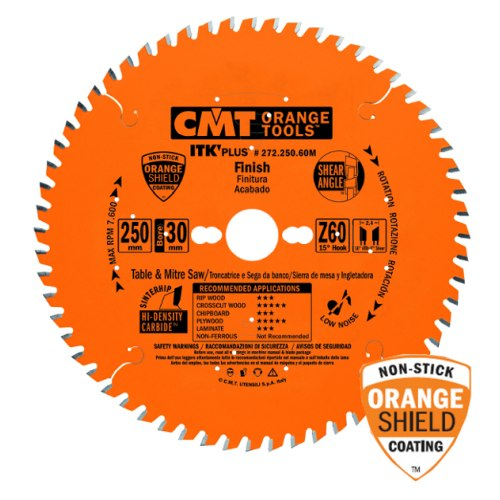CMT ITK-Plus HW rundsavsklinge 216 x 1,8 x 30 mm 48 tænder