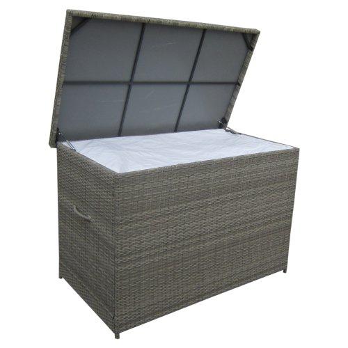 Venture Design Amazon hyndeboks i grå kunstflet 150 x 90 x 100 cm