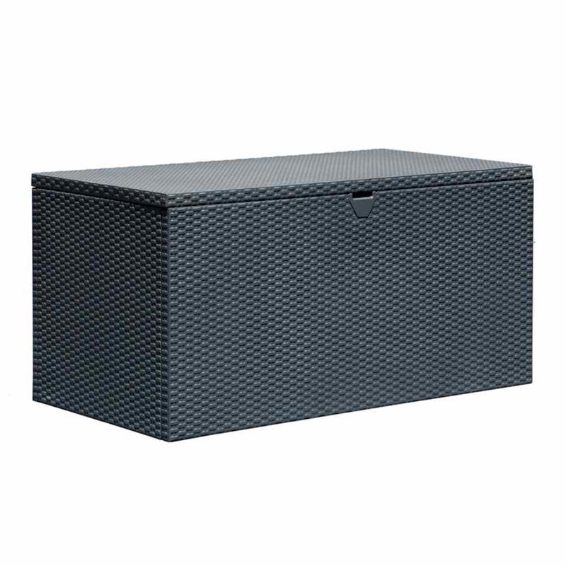 Arrow Deckbox hyndeboks antracit / opbevaringsboks antracit 1320 x 700 x 670 mm