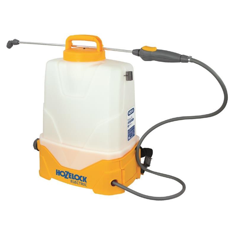 Hozelock Pulsar elektrisk rygsprøjte 15 liter