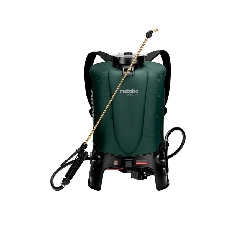 Metabo RSG 18 LTX 15 rygsprøjte 18V uden batteri og lader