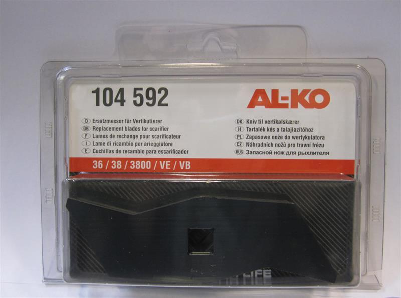 Seriøst AL-KO knivsæt - Tilbud på kniv sæt til vertikalskærer LA07
