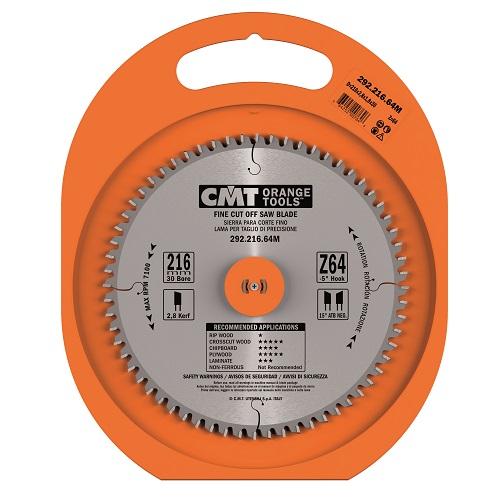 CMT rundsavsklinge 216 x 2,8 x 30 mm. m/64 tænder
