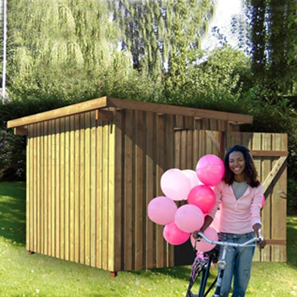 Gardenpro redskabsrum trykimprægneret 280x310x219 cm 8,74 m2