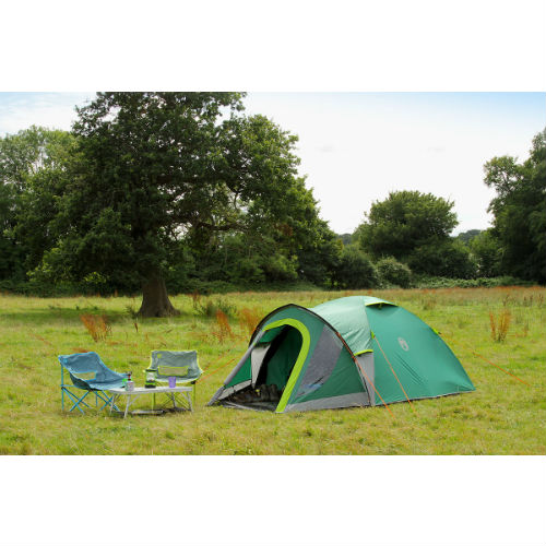 Campingtelt, Coleman Kobuk Valley 4 Plus, 4 personer, Grøn