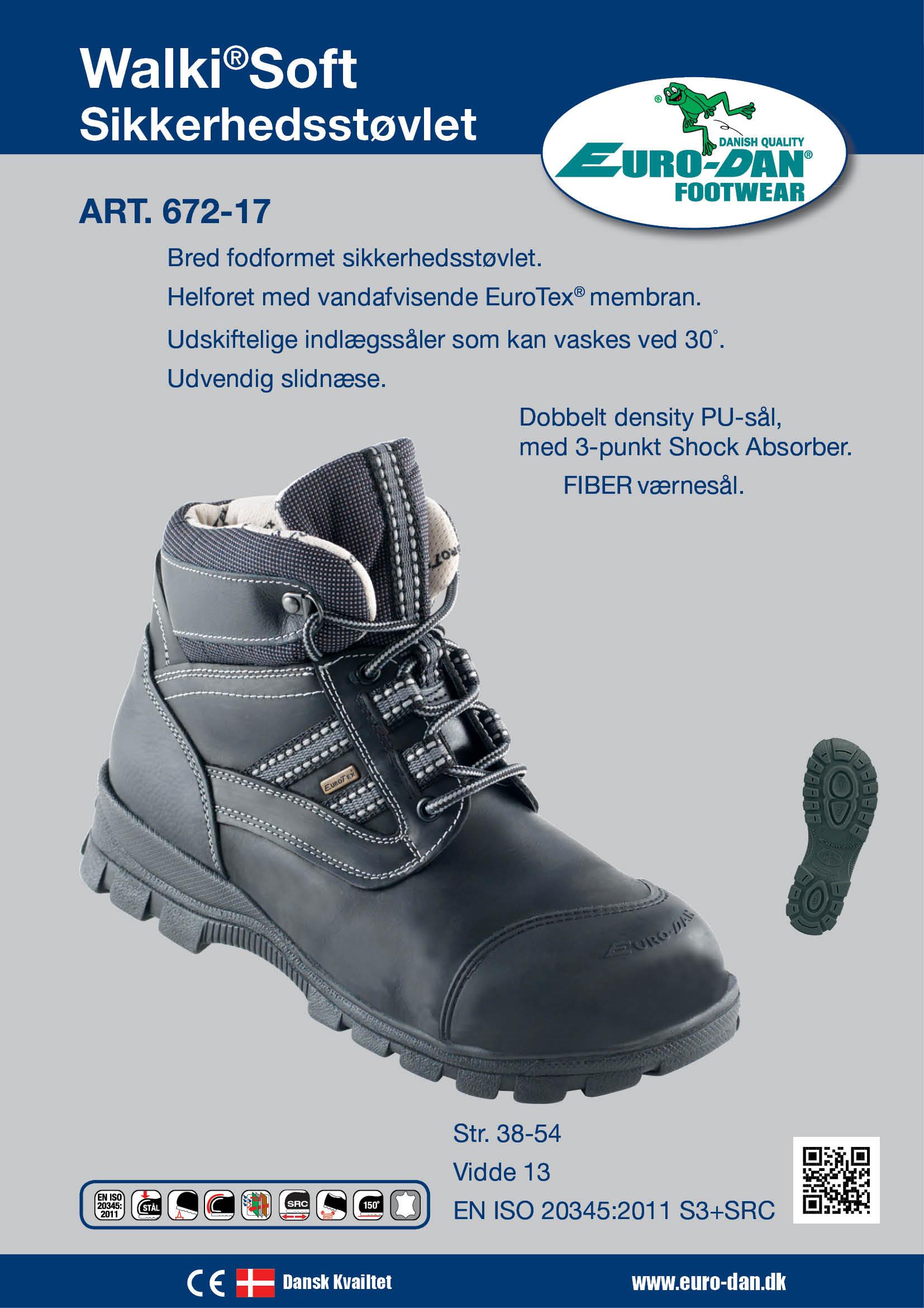 c9a10f096fb Se Euro-Dan Walki Soft støvlet sort med EuroTex str. 46 her